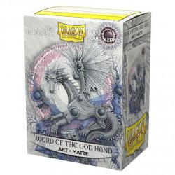 Dragon Shield - Art 100 Sleeves - Word of God Hand