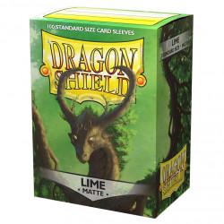 Dragon Shield - Matte 100 Sleeves - Lime