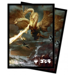 Ultra Pro - Ikoria 100 Sleeves - Ghidorah, King of the Cosmos