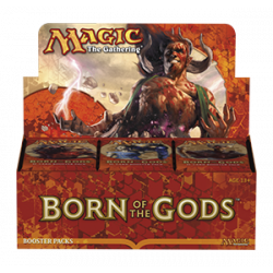 Born of the Gods Booster Box - SLIGHTLY DAMAGED