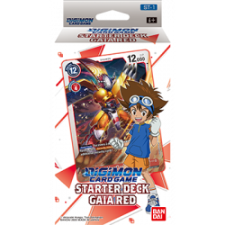 Digimon Card Game - Starter Deck - Gaia Red ST-1
