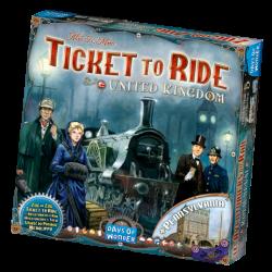 Ticket to Ride - United Kingdom & Pennsylvania - EN/DE/FR/IT