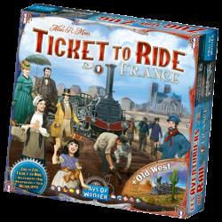Ticket to Ride - France & Old West - EN/DE/FR/IT