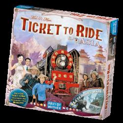 Ticket to Ride - Asia & Legendary Asia - EN/DE/FR/IT