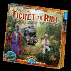 Ticket to Ride - The Heart of Africa - EN/DE/FR/IT