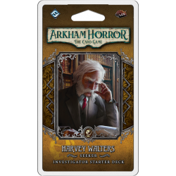 Arkham Horror - Investigator Deck - Harvey Walters