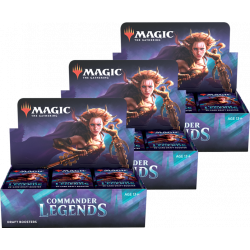 Commander Legends - 3x Draft Booster Box