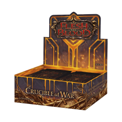 Flesh and Blood TCG - Crucible of War - Booster Display
