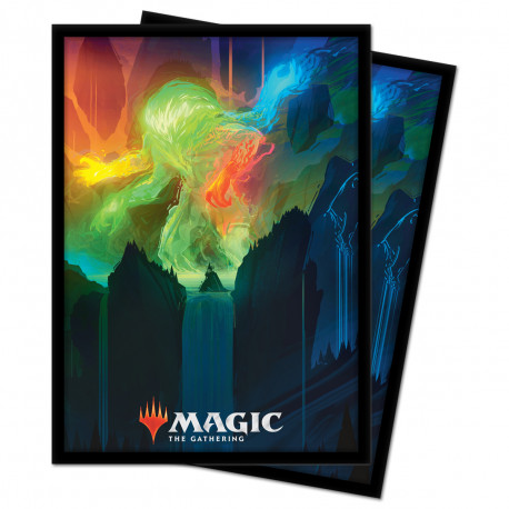 Ultra Pro - Zendikar Rising 100 Sleeves - Omnath, Locus of Creation