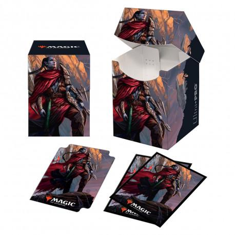 Ultra Pro - Zendikar Rising Combo Deck Box & 100 Sleeves - Anowon, the Ruin Thief