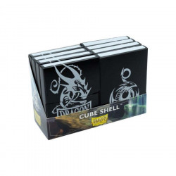 Dragon Shield - Cube Shell (8x) - Black