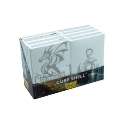 Dragon Shield - Cube Shell (8x) - White