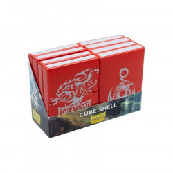 Dragon Shield - Cube Shell (8x) - Red