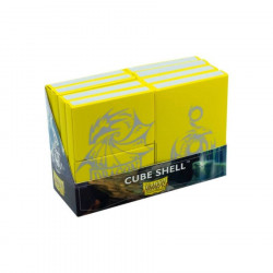 Dragon Shield - Cube Shell (8x) - Yellow