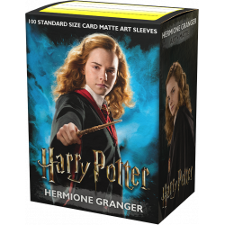 Dragon Shield - WizardingWorld Art 100 Sleeves - Hermione Granger