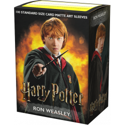 Dragon Shield - WizardingWorld Art 100 Sleeves - Ron Weasley