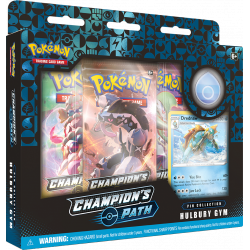 Pokemon - SWSH3.5 Champion's Path - Hulbury Gym Pin Collection