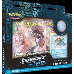 Pokemon - SWSH3.5 Futuri Campioni - Collezione con Spilla Hulbury Gym