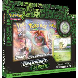 Pokemon - SWSH3.5 Champion's Path - Turffield Gym Pin Collection