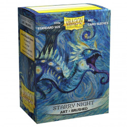 Dragon Shield - Art 100 Sleeves - Starry Night