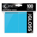 Ultra Pro - Eclipse Gloss 100 Sleeves - Sky Blue