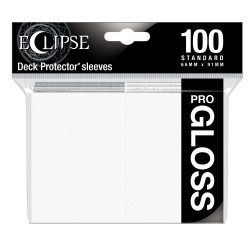 Ultra Pro - Eclipse Gloss 100 Sleeves - Arctic White