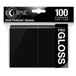 Ultra Pro - Eclipse Gloss 100 Sleeves - Jet Black