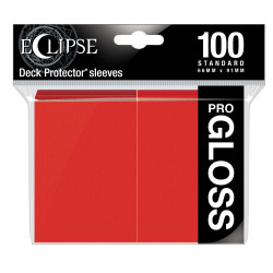Ultra Pro - Eclipse Gloss 100 Sleeves - Apple Red