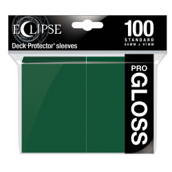 Ultra Pro - Eclipse Gloss 100 Sleeves - Forest Green