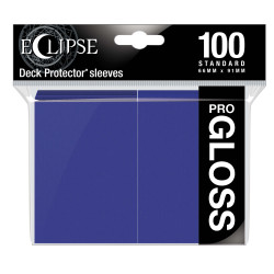 Ultra Pro - Eclipse Gloss 100 Sleeves - Royal Purple