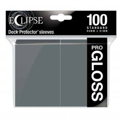 Ultra Pro - Eclipse Gloss 100 Sleeves - Smoke Grey