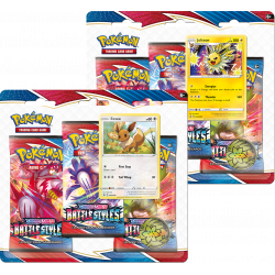 Pokemon - SWSH5 Battle Styles - 3-Pack Blister Bundle