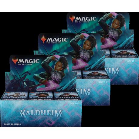 Kaldheim - 3x Draft Booster Box