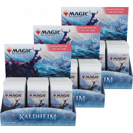Kaldheim - 3x Set Booster Box