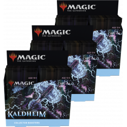Kaldheim - 3x Collector Booster Box