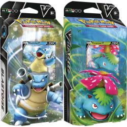 Pokemon - V Battle Decks - Venusaur V and Blastoise V Set