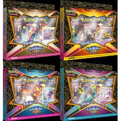 Pokemon - SWSH4.5 Destino Splendente - Set Collezioni con spilla Festa di Matti
