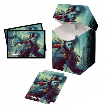 Ultra Pro - Commander Legends Combo Deck Box & 100 Sleeves - Sakashima of a Thousand Faces