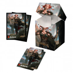 Ultra Pro - Commander Legends Combo Deck Box & 100 Sleeves - Jeska, Thrice Reborn