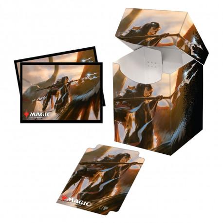 Ultra Pro - Commander Legends Combo Deck Box & 100 Sleeves - Liesa, Shroud of Dusk