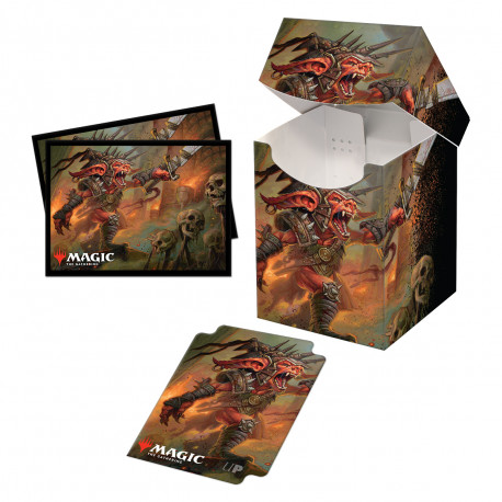 Ultra Pro - Commander Legends Combo Deck Box & 100 Sleeves - Rograkh, Son of Rohgahh