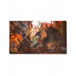 Dragon Shield - Limited Edition Playmat - Valentine Dragons 2021