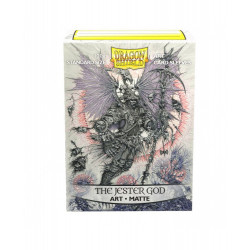 Dragon Shield - Art 100 Sleeves - The Jester God