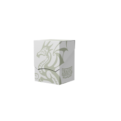 Dragon Shield - Dual-Colored Deck Shell - White/Black