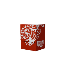 Dragon Shield - Dual-Colored Deck Shell - Red/Black