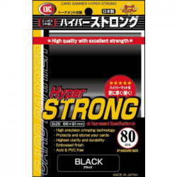 KMC - Hyper STRONG 80 Sleeves - Black