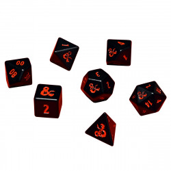 Ultra Pro - Dungeons & Dragons Heavy Metal 7 RPG Dice Set