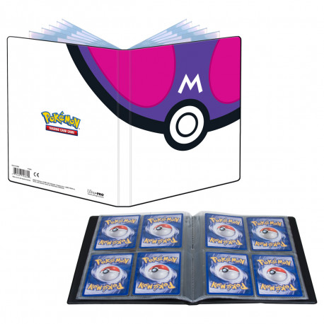 Ultra Pro - Pokémon 4-Pocket Portfolio - Master Ball