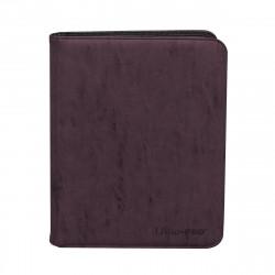 Ultra Pro - Suede Zippered Premium 9-Pocket PRO-Binder - Amethyst