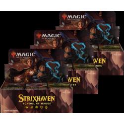 Strixhaven: Akademie der Magier - 3x Draft-Booster Display